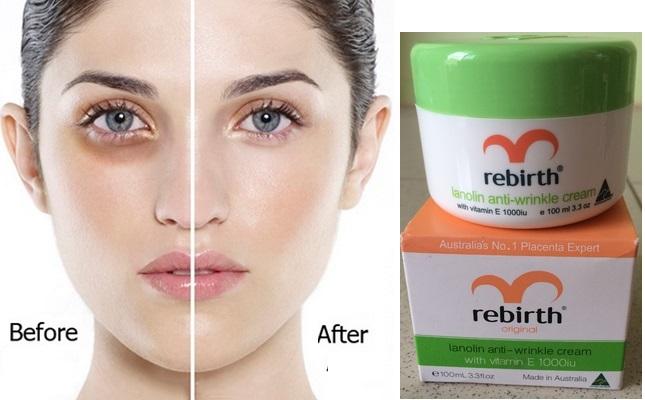 Làm đẹp da với Rebirth Lanolin with Vitamin E của Australia