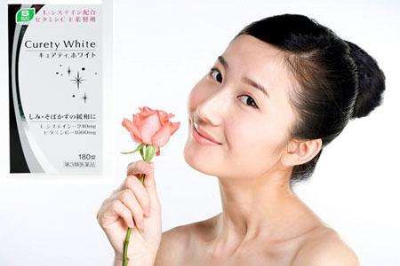 curety white đem lại vẻ đẹp cho phái nữ