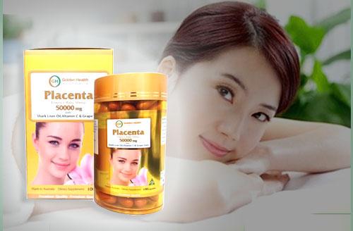Viên uống Golden Health Placenta đồng hành cùng vẻ đẹp của người phụ nữ