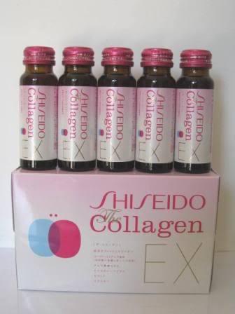 shiseido collagen nhật bản