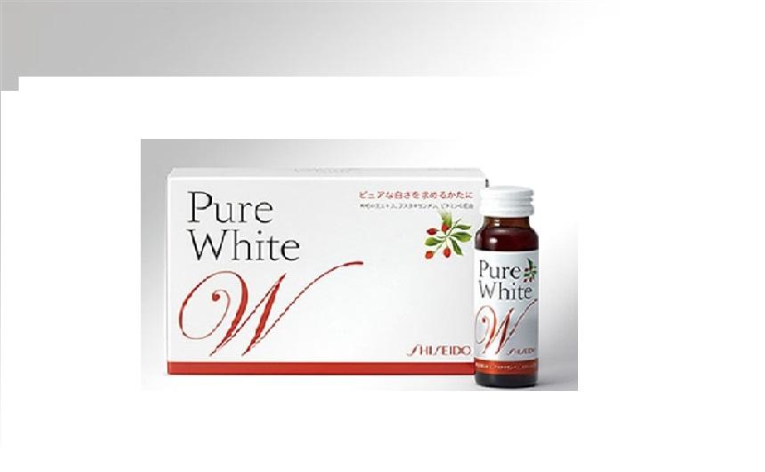 Pure White Shiseido - Giải pháp trắng da tự nhiên