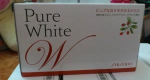 Viên uống trắng da pure white shiseido chính hãng mua ở đâu?
