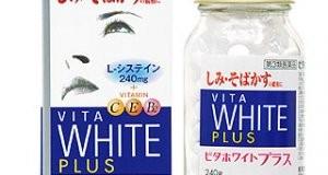 Vita white plus- viên trị nám da mặt hiệu quả nhất hiện nay