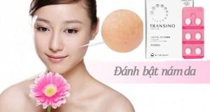Trị nám da tận gốc với sản phẩm cao cấp Transino Nhật Bản