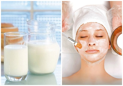 Cách làm trắng da mặt bằng sữa tươi không đường