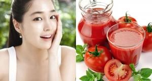 Chống lão hóa và làm đẹp da bằng cà chua hiệu quả nhất