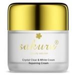 Kem dưỡng da ban đêm Crystal Clear White Cream Sakura