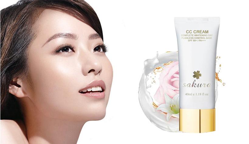 Kem cc cream Sakura là sản phẩm chất lượng