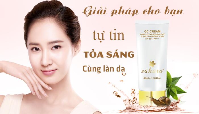 CC Cream Sakura  - Giải pháp hiệu quả cho làn da