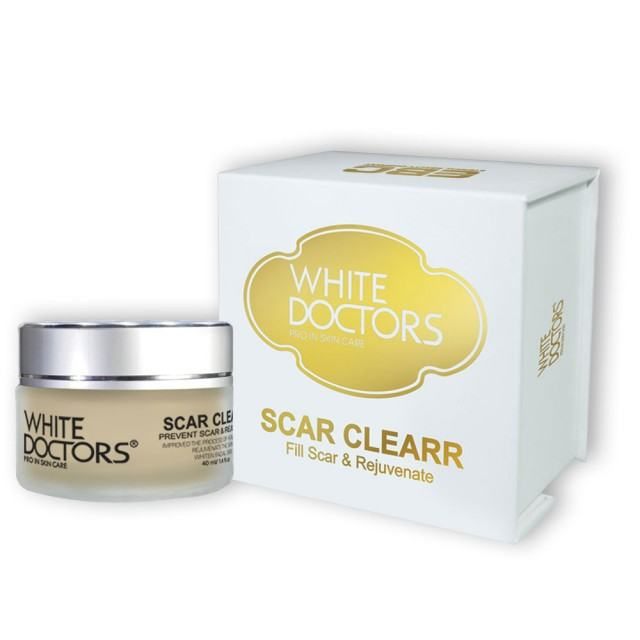 Kem trị sẹo rỗ white doctors scar clearr