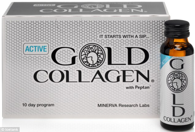 Nước uống gold collagen active 1