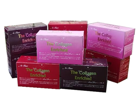Nước uống the collagen enriched 1