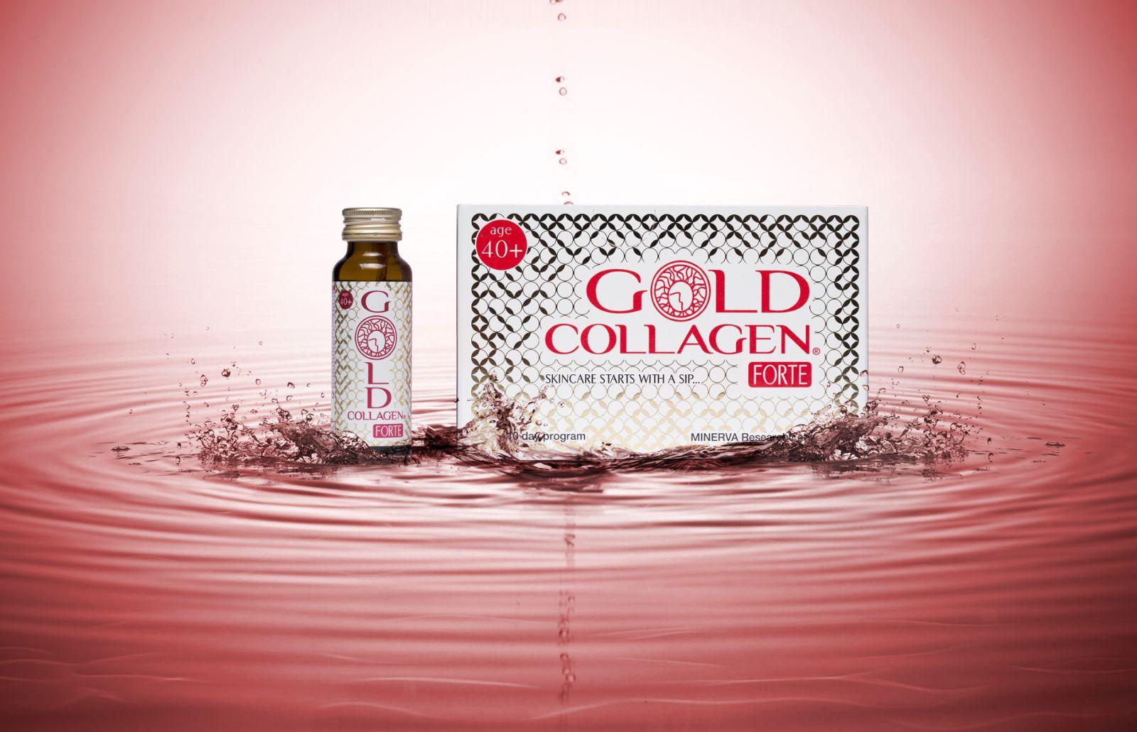 Nước uống gold collagen forte 3