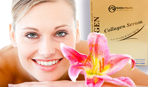 Serum golden health collagen 2