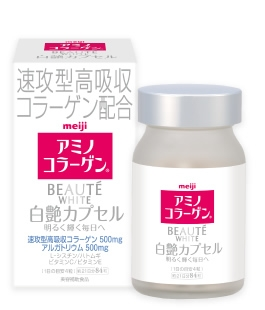 Viên uống trắng da Meiji Beaute White 1