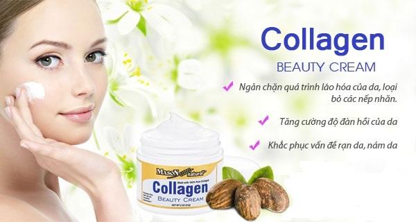 Tác dụng của kem dưỡng da Collagen Beauty Cream Mason Natural