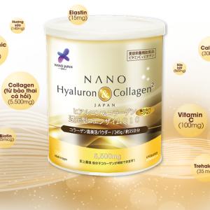 Collagen dạng bột nano hyaluron 1