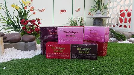 Nước uống the collagen enriched 2