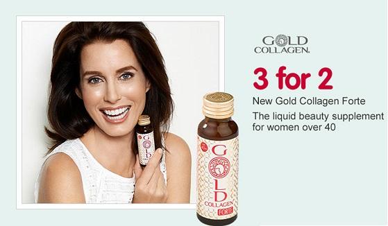 Gold Collagen Forte - Thực phẩm chức năng bổ sung collagen dánh riêng cho phụ nữ ngoài 40