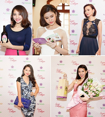 Các nghệ sỹ Việt cũng rất yêu thích sử dụng Super Collagen Coq10