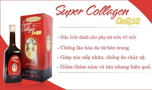 Tác dụng tuyệt vời của Super Collagen CoQ10