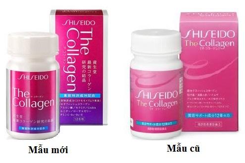 Mẫu mới sản phẩm the collagen shiseido Nhật Bản