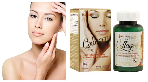 Tác dụng làm đẹp da tuyệt vời của collagen 500mg
