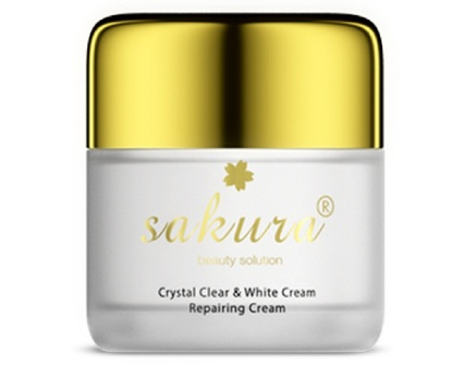 kem-duong-trang-da-ban-dem-crystal-clear-white-cream-sakura