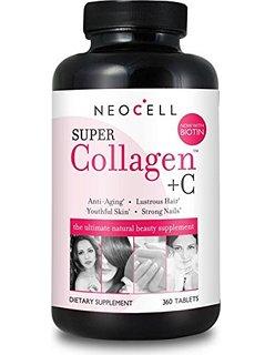 Công dụng viên uống chăm sóc da , tóc – Super collagen +C 360 viên của Mỹ