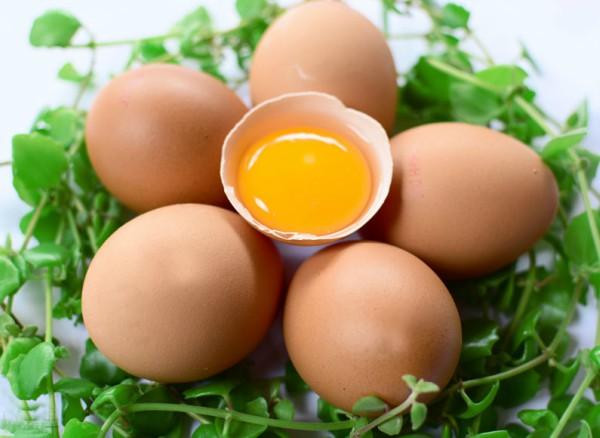 Trị mụn với trứng gà